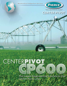 Pierce Corporation CP-600 Brochure