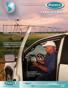 Pierce Corporation Farm Network Brochure