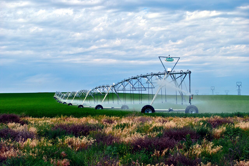 Pierce Center Pivot irrigation system