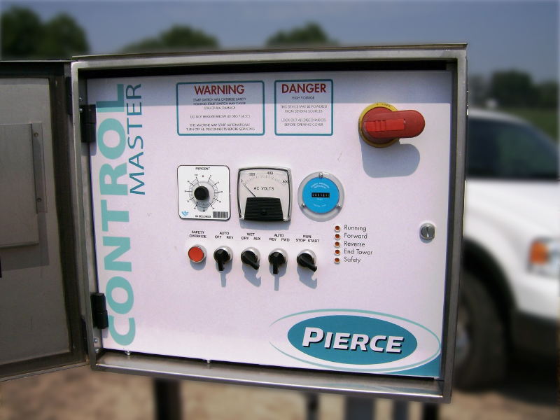 Pierce Corporation Center Pivot Irrigation Control Panel
