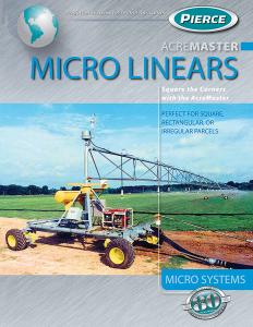 Pierce Corporation AcreMaster Linear Brochure