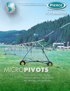 Pierce Corporation AcreMaster Pivot Brochure