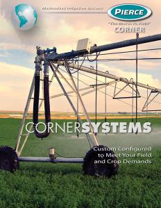 Pierce Corporation Corner Master Brochure