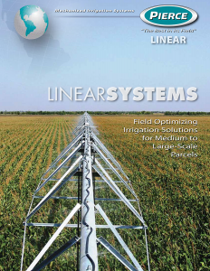 Pierce Corporation Linear Irrigation Systems